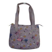 RADLEY 'Lavenham' Lilac/Mauve Large Oilskin Shoulder Bag