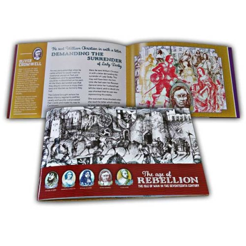 Isle of Man 2019 Stamps The Age of Rebellion Prestige Booklet (CTO)