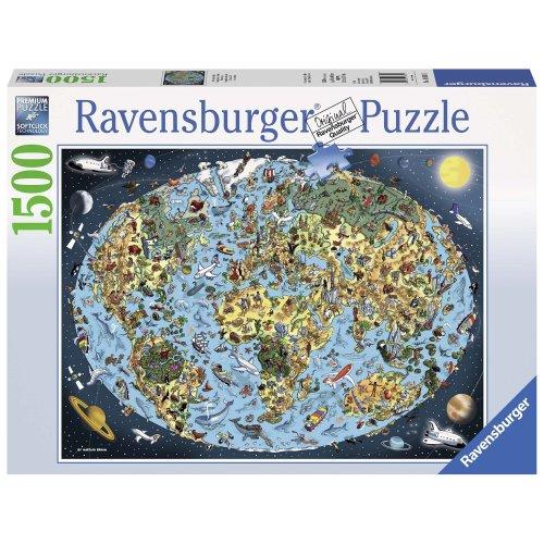 Ravensburger Cartoon Earth 1500pc Jigsaw Puzzle
