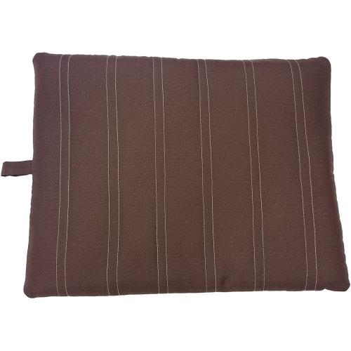 "Sleep Zone 37"" Durable Pet Bed-Chocolate"