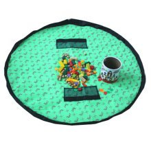 Baby Kids Play Floor Mat Toy Storage Bag  Quickly Easily Folds Up,Butterfly
