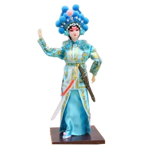 Traditional Chinese Doll Peking Opera Performer - Xiao Qing