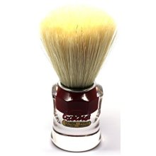 Semogue 820 Pure Bristle Shaving Brush with Red Handle by Semogue Excelsior