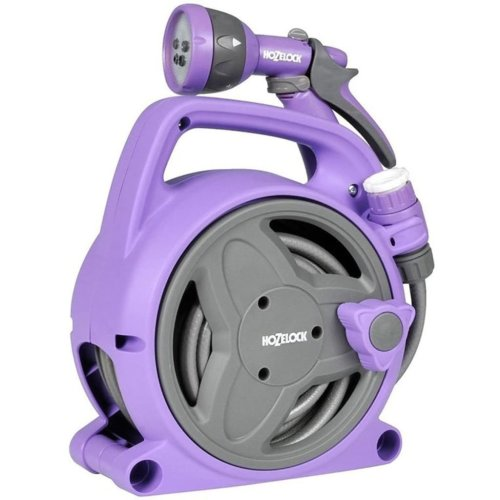 Hozelock Seasons Pico Reel with 10 m Hose Purple 2425 8340