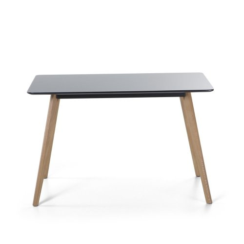Dining Table 120 x 80 cm Black FLY II
