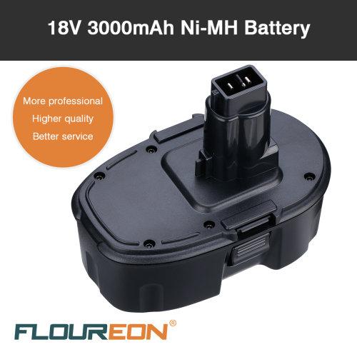 18V 3000mAh Ni-MH Replacement Battery For DEWALT DCD690KL DCD925B2