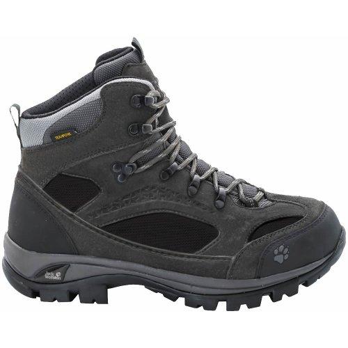 Jack Wolfskin Womens All Terrain 8 Texapore MID Hiking Boots Shadow Black (UK5 / EU37 / US7)
