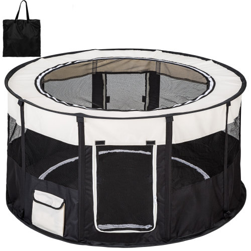 Dog pen Carola black