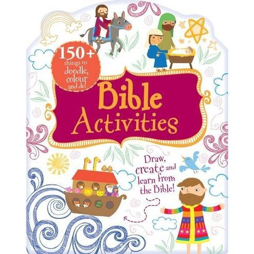 Bible Activities - Doodle, Colour and Play (Bumper Activity Book)