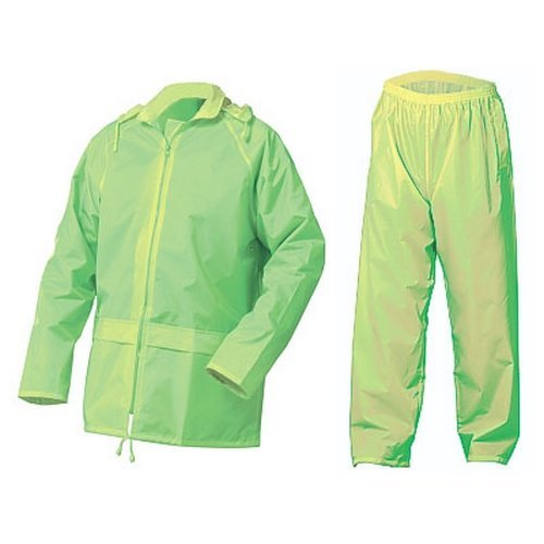 Click NBDSSY4XL Nylon Waterproof Jacket and trousers Saturn Yellow 4XL