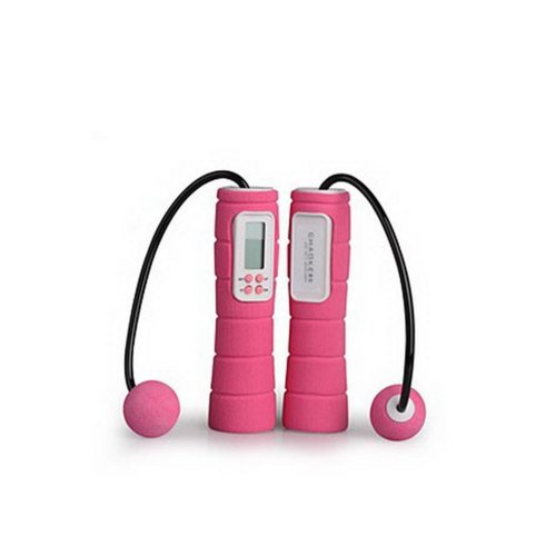 Jump Rope Wireless Digital Jumping Rope for Fitness (Pink)