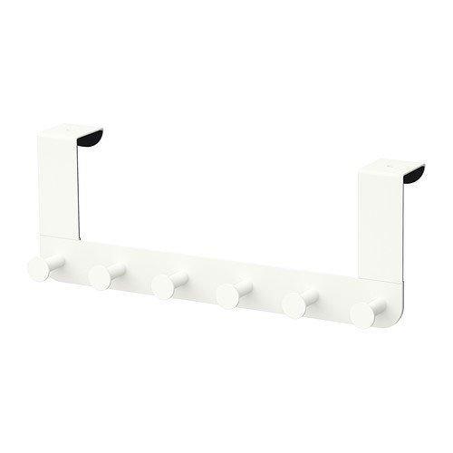 Ikea Enudden  Contemporary  Hanger for Door, White - Pack of 1