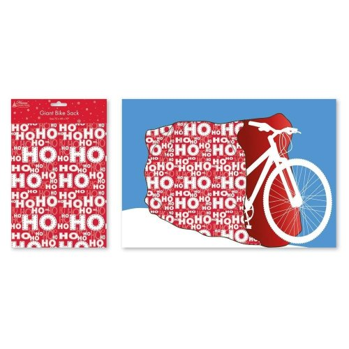 Giant Christmas Bicycle Present Gift Wrap Bike Large Stocking Sack