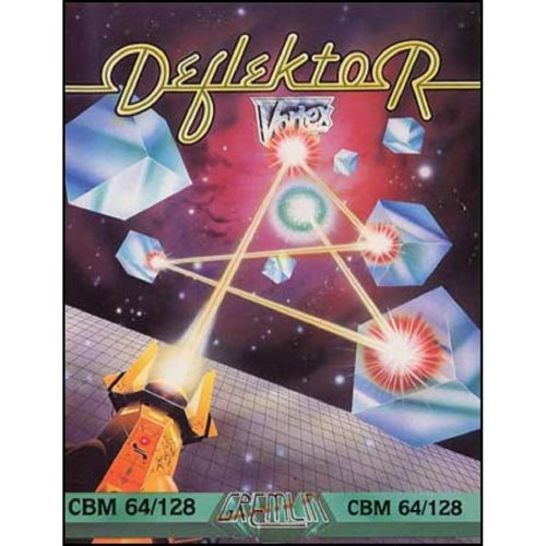Deflektor for Commodore 64 from Gremlin Graphics