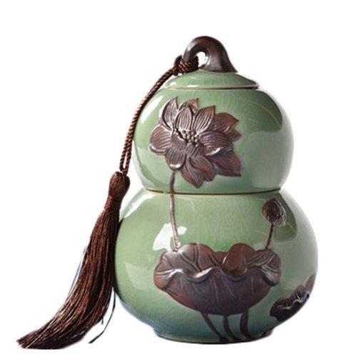 Japanese-style Storage Pots Tea coffee Canisters  Ceramic Jars #10