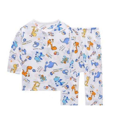 Little Boys Dinosaur Pajamas Cotton Kids Clothes Short Sets Children Sleepwear