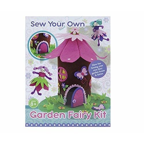 TRIXES Make/Sew your own Garden Fairy Arts and crafts Kit