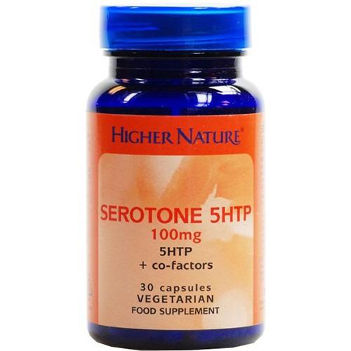 Higher Nature 12% off Serotone 100mg  30 Capsules