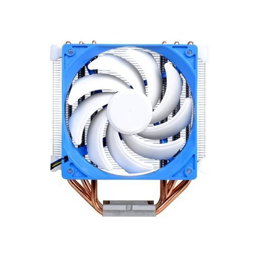 Silverstone Tek Argon Series CPU Cooler with 120mm Cooling Fan for Socket LGA775 1155 1156 1366 2011 AM2 AM3 FM1 FM2 White AR03