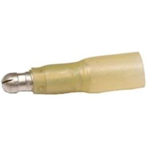 Morris Products 12318 Heat Shrinkable Bullet Disconnects - 12-10 Wire,.197 Bullet, Pack Of 100