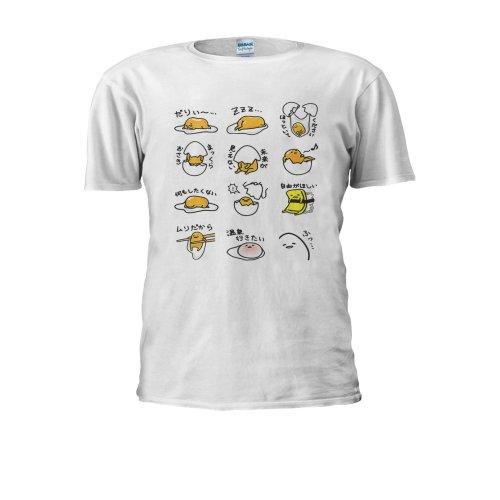 Gudetama JAPANESE Lazy Egg Men Women Unisex Top T Shirt