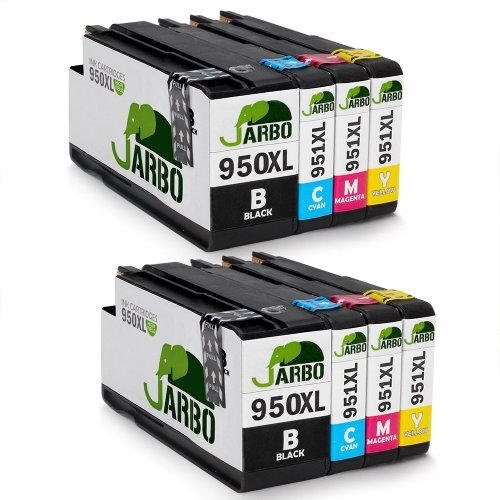 JARBO 950XL 951XL Replacement for HP 950 951 Ink Cartridges High Yield Compatible with HP Officejet Pro 8620 8600 Plus 8610 8100 276dw 8615 8630...