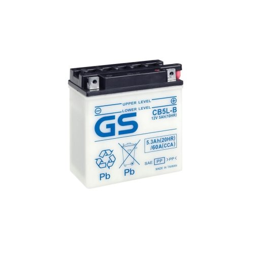 Motorcycle CB Series Battery 12V - 5Ah - 60CCA