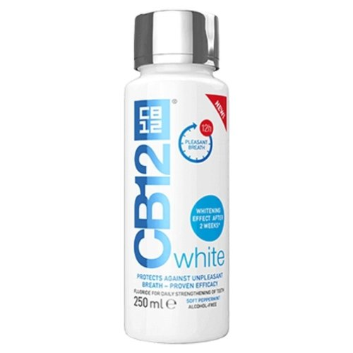 CB12 White 250ml Mouthwash Soft Peppermint