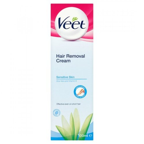 Veet Sensitive Hair Removal Cream Aloe Vera and Vitamin E 100ml