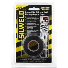 Everbuild Silweld Silicone Repair Tape Black 3m
