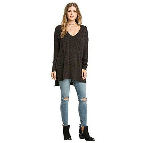 Amuse society Lauryn sweater - charcoal