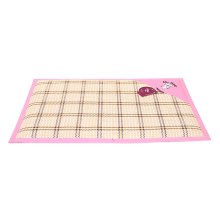 Hot Pet Dog Bed Mat Fashion Indonesian Cane Mats PINK, 53*38cm