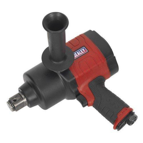 "Sealey GSA6005 Air Impact Wrench 1""Sq Drive Twin Hammer"