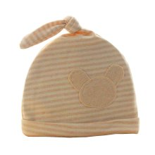 Cute Baby Hats Infant Caps Newborn Baby Cotton Hat Knot Bear Stripe