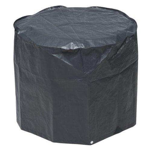 Nature Charcoal Barbecue Cover 60 x 73 cm PE Dark Grey 6030612