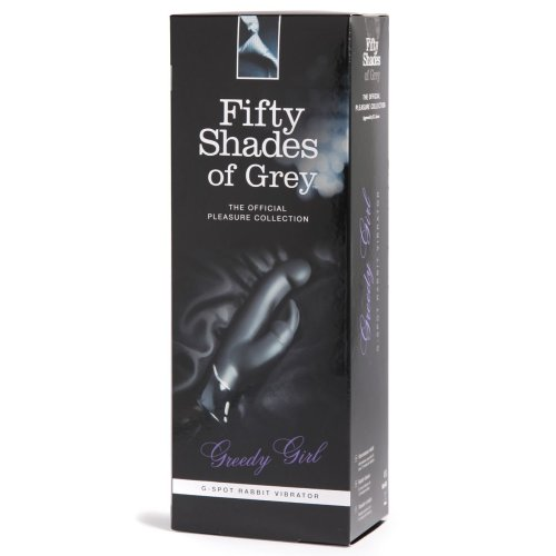Fifty Shades of Grey Greedy Girl G-Spot Rechargeable Rabbit Vibrator,