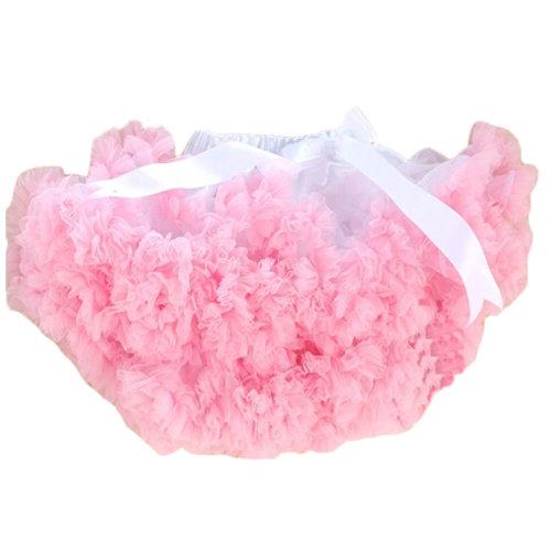 Adorable Two-Tone [Pink&White] Kids 6-7Yrs Dance Skirt Yarn Tutu Skirt One Size