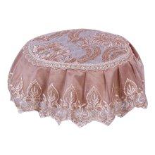 Beautiful Round Stool Cushion European Style Stools Pad Khaki