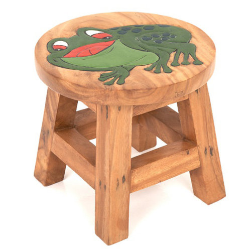 Childs Stool – Frog