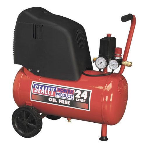 Sealey SAC02415 24ltr Oil Free Belt Drive Compressor 1.5hp