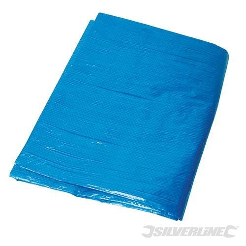 Silverline Tarpaulin 3.6 x 4.8m - 48m 36 Waterproof 282423 -  tarpaulin silverline x 48m 36 waterproof 282423