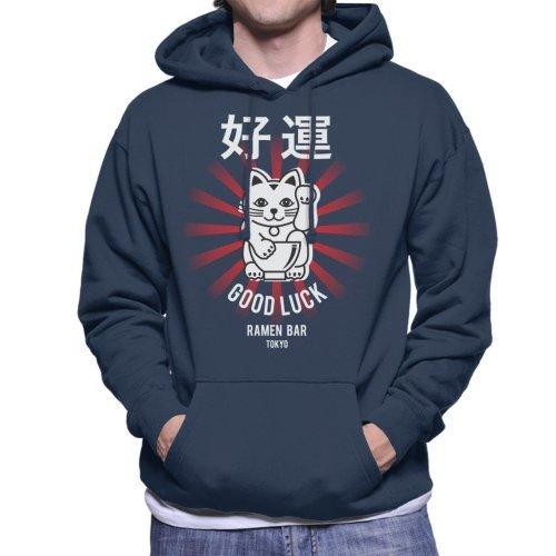 The Ramen Clothing Company Good Luck Noodle Bar Tokyo Men's Hooded Sweatshirt