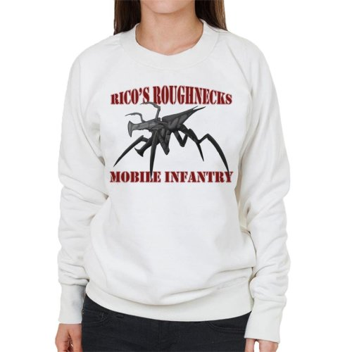 Ricos Roughnecks Arachnids Starship Troopers Women's Sweatshirt