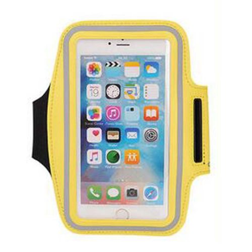 Arm Package Unisex Armband For Running Cell Phone Armband Sport Armband [Yellow]