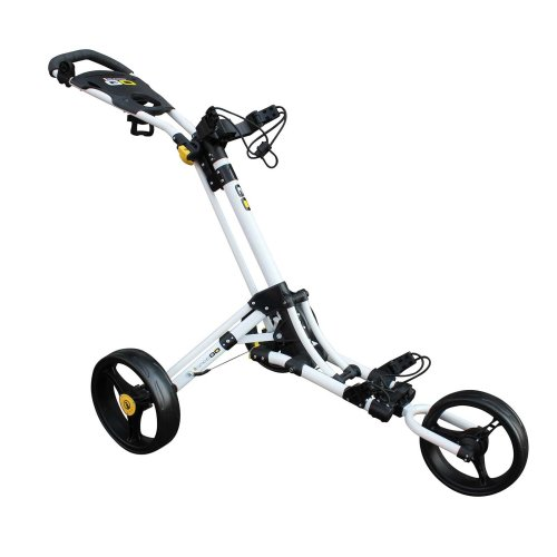 Masters ICart Go 3 Wheel Push Golf Trolley White