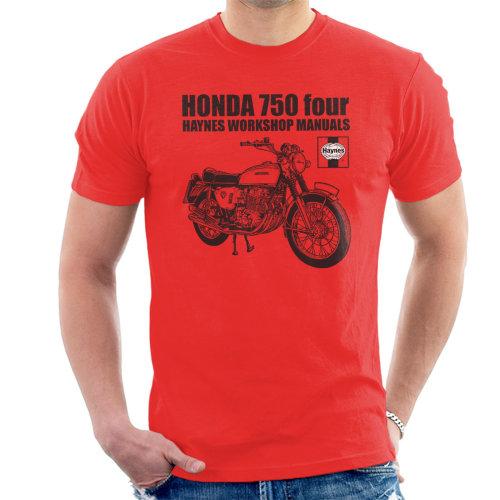 Haynes Owners Workshop Manual Honda 750 Four Men's T-Shirt