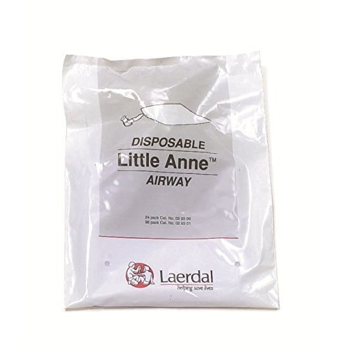 Laerdal Little Anne Resuscitation Complete Airways Manikin (Pack of 24)
