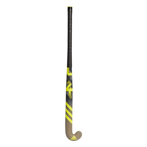 adidas LX24 Compo 4 Composite Field Hockey Stick Black/Grey/Yellow
