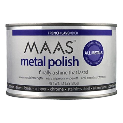 MAAS 91404 Metal Polish With Lavender Scent