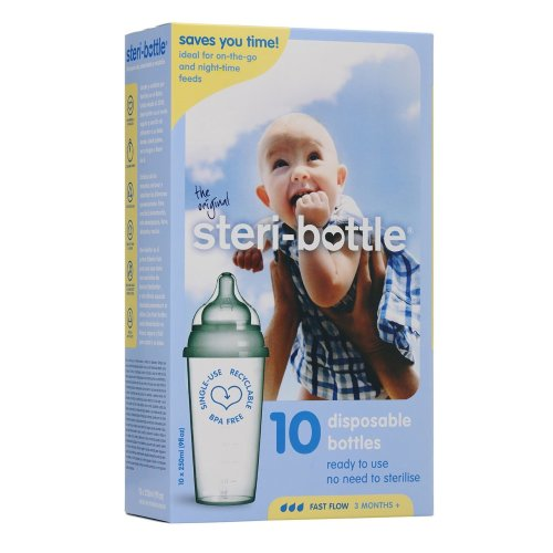 Disposable Bottles 10 Pack